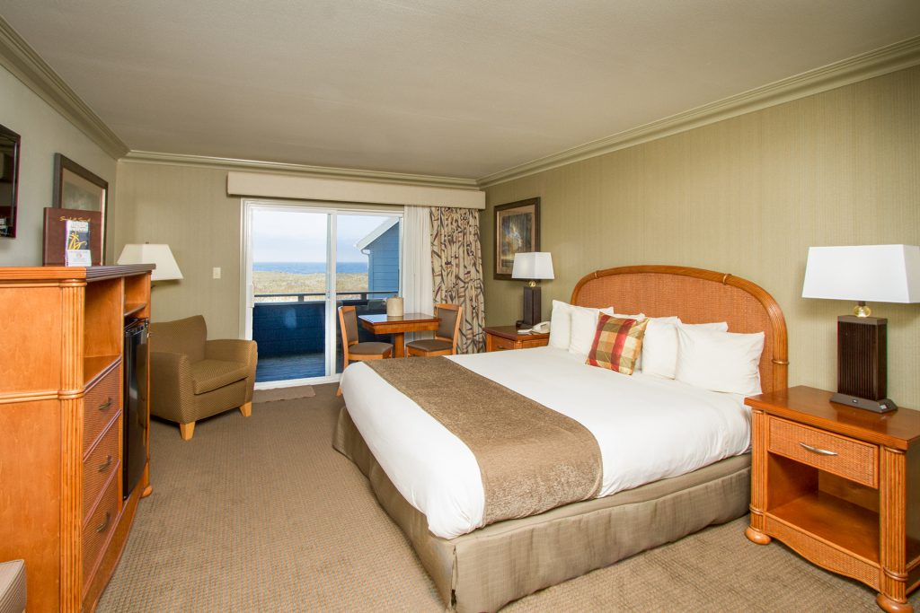 King with Ocean View Downstairs - Pet Friendly (P3)